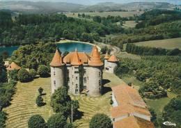 21226 VERNET LA VARENNE VUE AERIENNE -chateau Montfort -coll Chabrol 3.01.00.8138