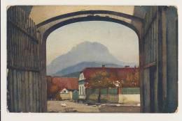 Unidentified Farmhouse And Farm Yard - Postcards