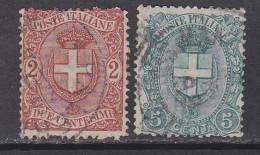 Italien-Italiane 1896 / Mi: 72,73 / I 104 - 1878-00 Humbert I