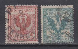 Italien-Italiane 1901 / Mi: 75,76 / I 105 - 1900-44 Victor Emmanuel III