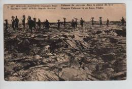 Belgisch Congo Belge CP Vue 8 Surchargé Est Africain Allemand Occupation Belge Unused AP199 - Entiers Postaux