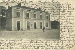 71 CPA Chauffailles La Gare Exterieur Sncf Chemin De Fer - Chalon Sur Saone
