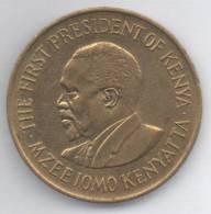 KENIA 10 CENTS 1977 - Kenia
