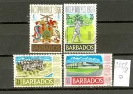 BARBADOS - 255/8  Unabhängigkeit 1966  Gestempelt  USED - Barbados (1966-...)
