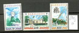 BARBADOS - 271/3  Meteorologie  Gestempelt  USED - Barbados (1966-...)