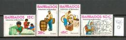 BARBADOS - 452/5  Berufe  Gestempelt  USED - Barbados (1966-...)