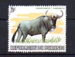Burundi 1983,  Animaux D'Afrique,  Buffle,  890 Ø Légère De Coin - 1980-89: Oblitérés