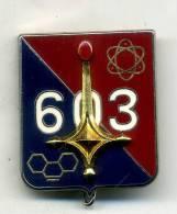 Insigne Du 603é Rgt Nucleaire-biologique-chimique___drago - Armée De Terre