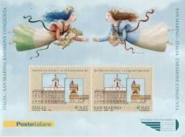 P - 2006 Italia - Le Due Repubbliche - Congiunta Con San Marino - 6. 1946-.. Repubblica