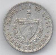 CUBA 5 CENTAVOS 1968 - Cuba
