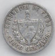 CUBA 5 CENTAVOS 1966 - Cuba
