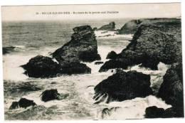 CPA Belle Ile En Mer, Rochers De La Pointe Aux Poulains (pk6040) - Belle Ile En Mer