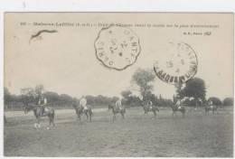 MAISONS-LAFFITTE  (78)  Défilé De Chevaux Avant La Course Sur Piste D'entrainement  / 1323 - Maisons-Laffitte