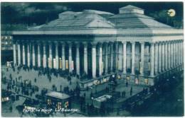 CPA Paris La Nuit, La Bourse (pk6051) - Paris La Nuit