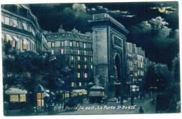 CPA Paris La Nuit, La Porte St Denis (pk6053) - Parijs Bij Nacht