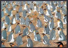 TAAF - Carte Postale - Colonie De Manchots Royaux - TAAF : Terres Australes Antarctiques Françaises