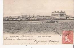 MONTEVIDEO 3001 VISTA DESDE LA BAHIA   1904 - Uruguay