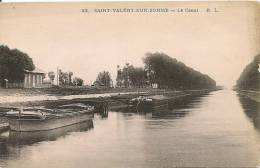SAINT VALERY SUR SOMME LE CANAL - Saint Valery Sur Somme