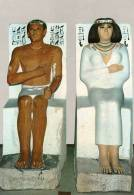 Egypte > Le Caire - CAIRO The Egyptian Museum - Le Prince Rahotep Et Sa Femme Princess Nofert (Nofer) * PRIX FIXE - Cairo