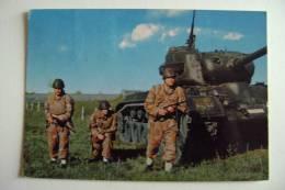 CARRO ARMATO  M  47   TANK    MILITARE   VIAGGIATA  COME DA FOTO - Manovre