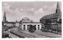 Dänemark, KOBENHAVN, Thorvaldsens Museum, Roter DR Stempel, Seltene Alte Karte, Gelaufen 1943 - Dänemark