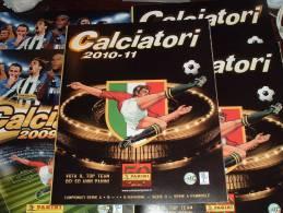 Calciatori 2010/2011 Album Vuota+6 Figurine Stickers Omaggio Da Edicola Lott N 2 Panini - Italienische Ausgabe