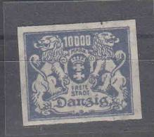 Danzig : Mi  Nr 169 FU,  MH/* Geprüft