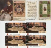 *VATICANO - EMISSIONE UNICA 2012 - Numeri 190/193* - Schede NUOVE (MINT) In Folder - Vaticano