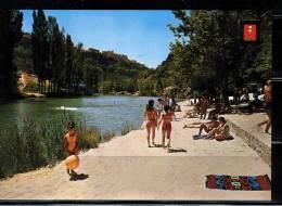 CUENCA.  PLAYA ARTIFICIAL EN  EL RIO JUCAR .  NO CIRCULADA. 1970 - Cuenca