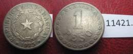Paraguay  1 Peso 1925 - Monedas