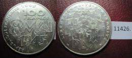Francia 100 Francos De Plata 1995 , Final II Guerra Mundial Triunfo Aliado , 8 Mai 1945 - Monedas
