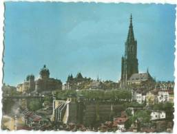 Switzerland, BERN, Munster Und Bundeshaus, The Cathedral And The Federal Building, Mini Photo Snap[12588] - Other