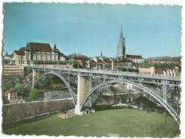 Switzerland, BERN, Kirchenfeld Bridge And The Cathedral 1930s-40s Photo[12590] - Photography