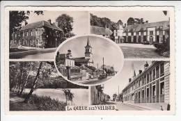 LA QUEUE LEZ YVELINES 78  - Vues Principales . Jolie Multivues - CPSM Dentelée PF RARE ? (0 Sur Le Site) -  Yvelines - Autres Communes