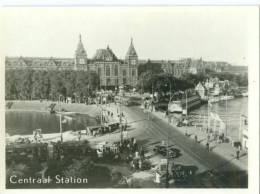 Netherlands, Amsterdam, Centraal Station 1940s-50s Mini Photo[12602] - Photography