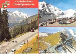 AK 475  Grossglockner Hochalpenstrasse - Viele Autos / Mehrbildkarte Um 1980 - Austria