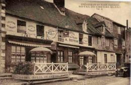 14 CREVECOEUR-EN-AUGE - Hôtel Du Cheval Blanc A. BETTON - TBE - Voiture - France