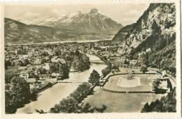 Switzerland, Unterseen Bei Interlaken Mit Niesen Mini Photo [12623] - Photography