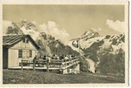 Switzerland, Grindelwald, Berg Restaurant First, Wetterhorn, Schreckhorn Mini Photo [12629] - Photography