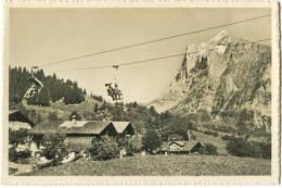 Switzerland, Bergbahn Grindelwald-First, Wetterhorn Mini Photo[12631] - Other