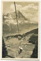 Switzerland, Bergbahn Grindelwald-First, Eiger, Mini Photo[12632] - Photography
