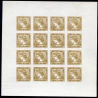 WIPA 1933 Merkur Bogen (commem. Sheet) - Nuevos