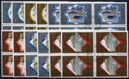 USSR 1979 - Mi.4872-4877 Two Sets Of 4-blocks (VF) - 1923-1991 URSS