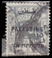 Palestine Scott # 56, 1pi Gray (1922) , Used - Palestine