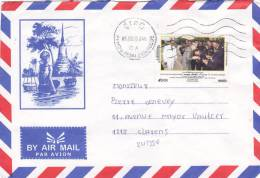 CAMBODGE : Letter Oblitérée Phnom Penh Le 9.5.2005 - Handicap International - Cambodge
