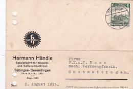 Germany 1935 Postal Card - Unclassified