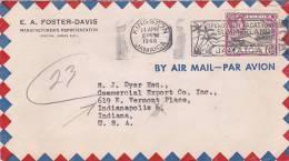 Jamaica 1948 Air Mail Cover Sent To USA - Jamaique (1962-...)