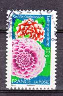 """FRANCE / 2012 / Y&T N° AA 665 : """"Fleurs"""" (Dahlia/Admiration) - Choisi - Cachet Rond - France"""