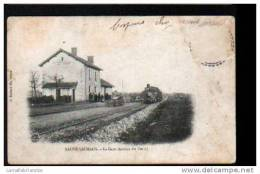 79 - SAUZAIS VAUSSAIS - LA GARE (ARRIVEE DU TRAIN ) - Sauze Vaussais