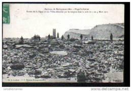 62 - ENVIRONS DE BOULOGNE SUR MER - PLAGE St GABRIEL - RUINES DE LA DIGUE ET DES VILLAS... - Non Classés